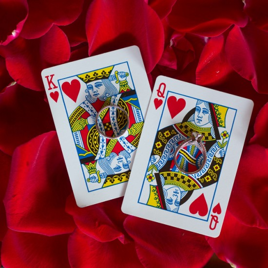 king of hearts, queen of hearts, rings